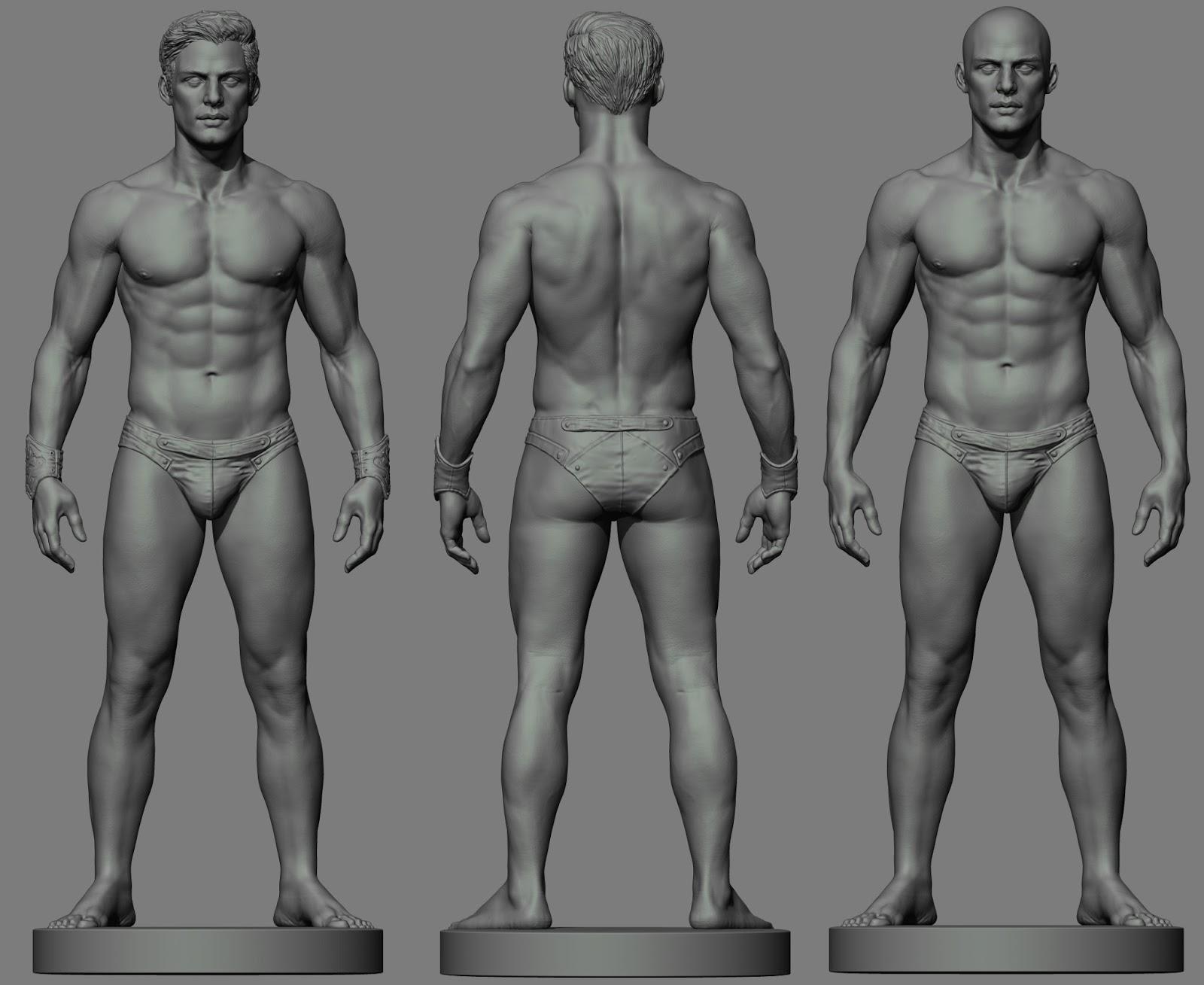 Идеальные пропорции тела мужчины