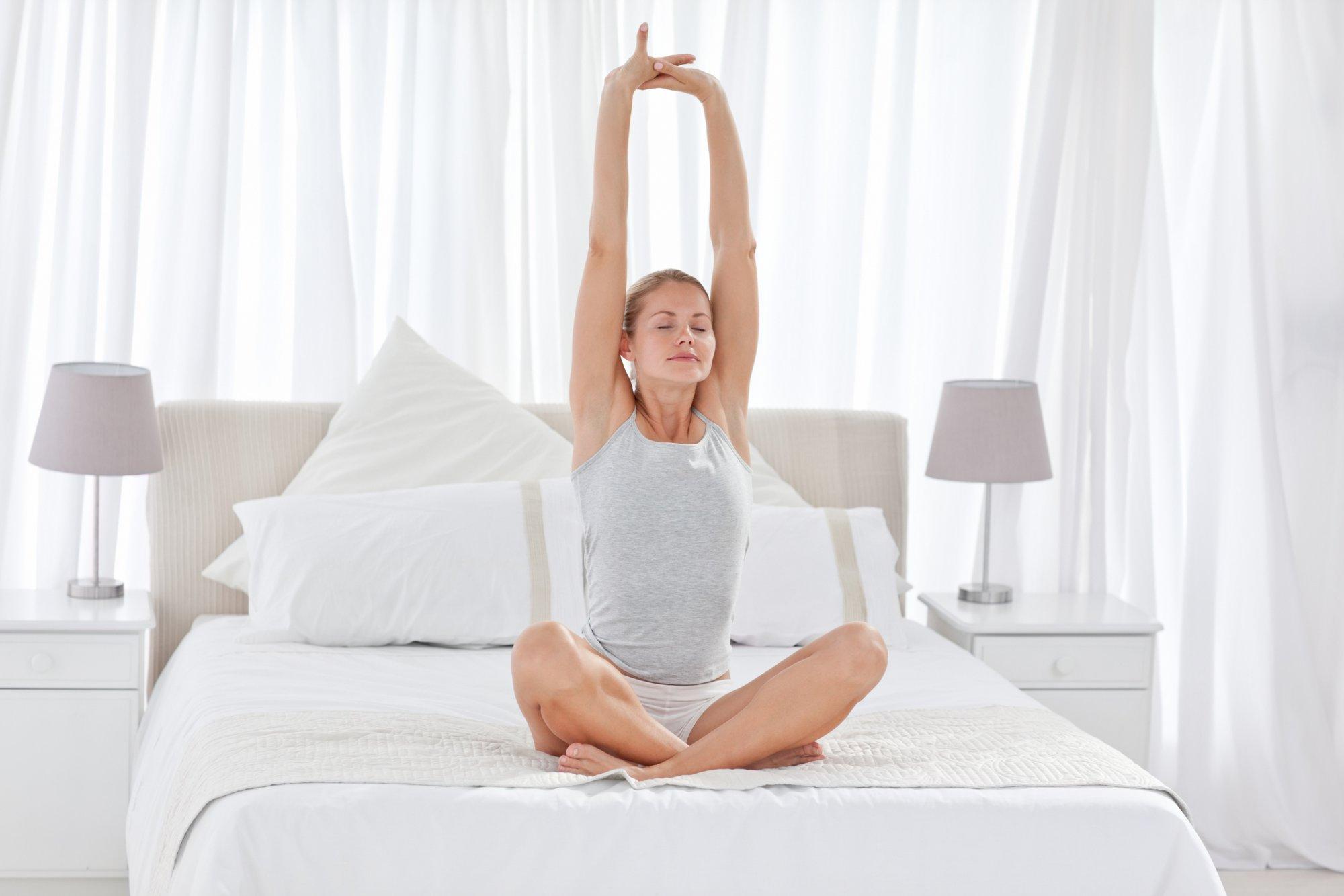 Простые упражнения для хорошего сна