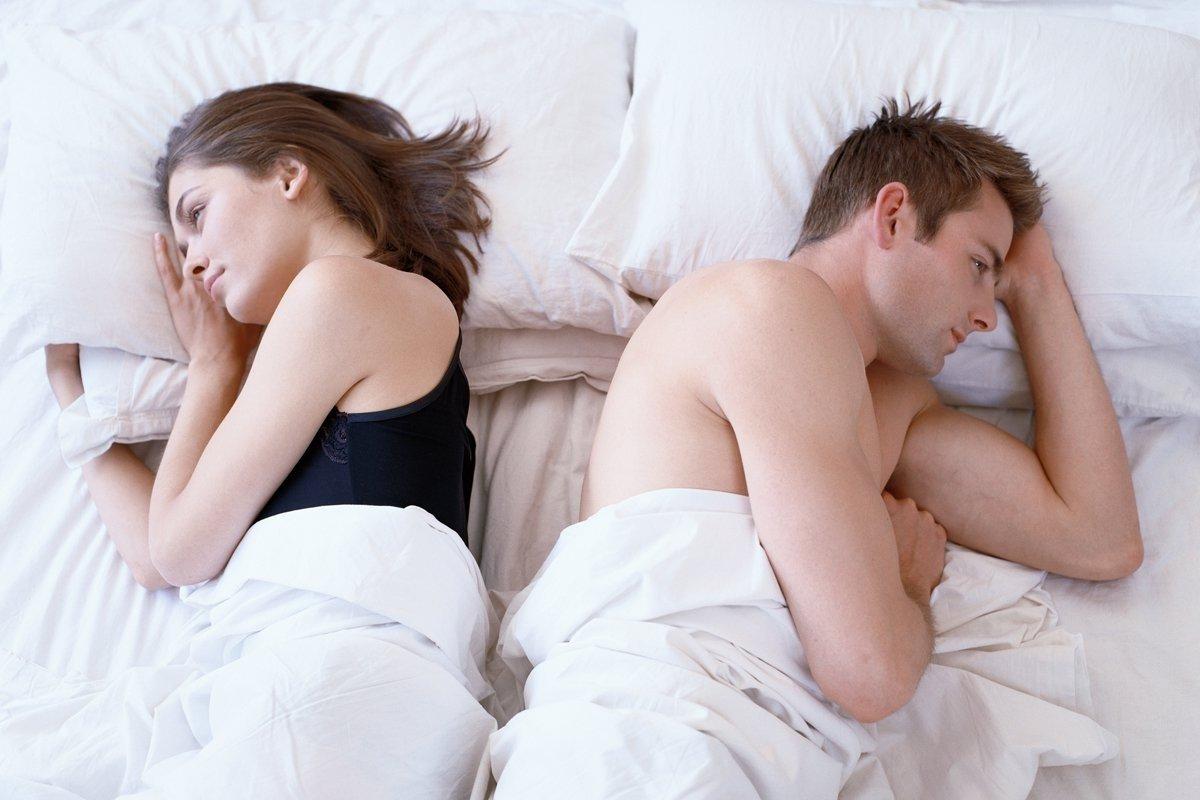 Мужчины объяснили нежелание заниматься сексом