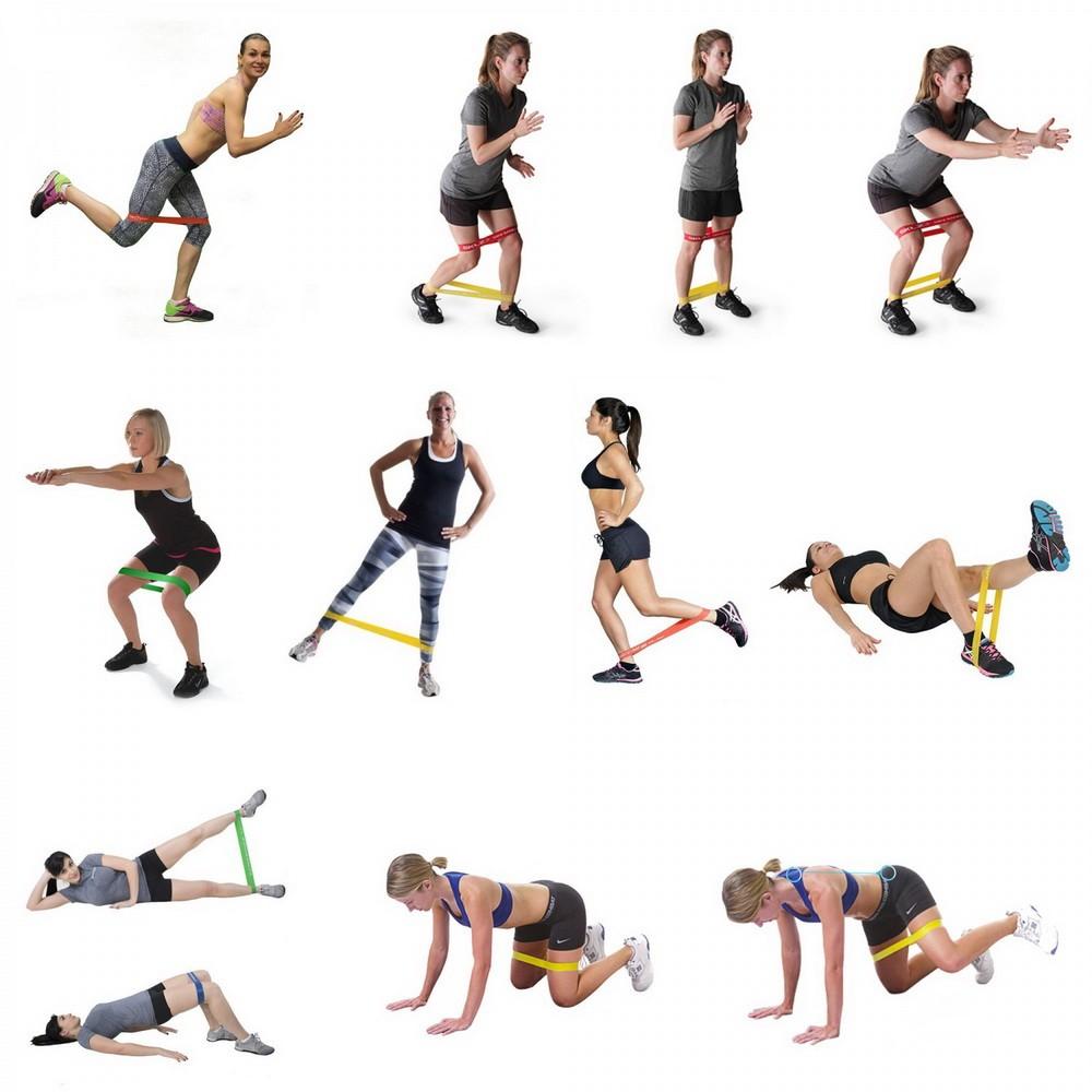 Картинки с упражнениями для фитнеса