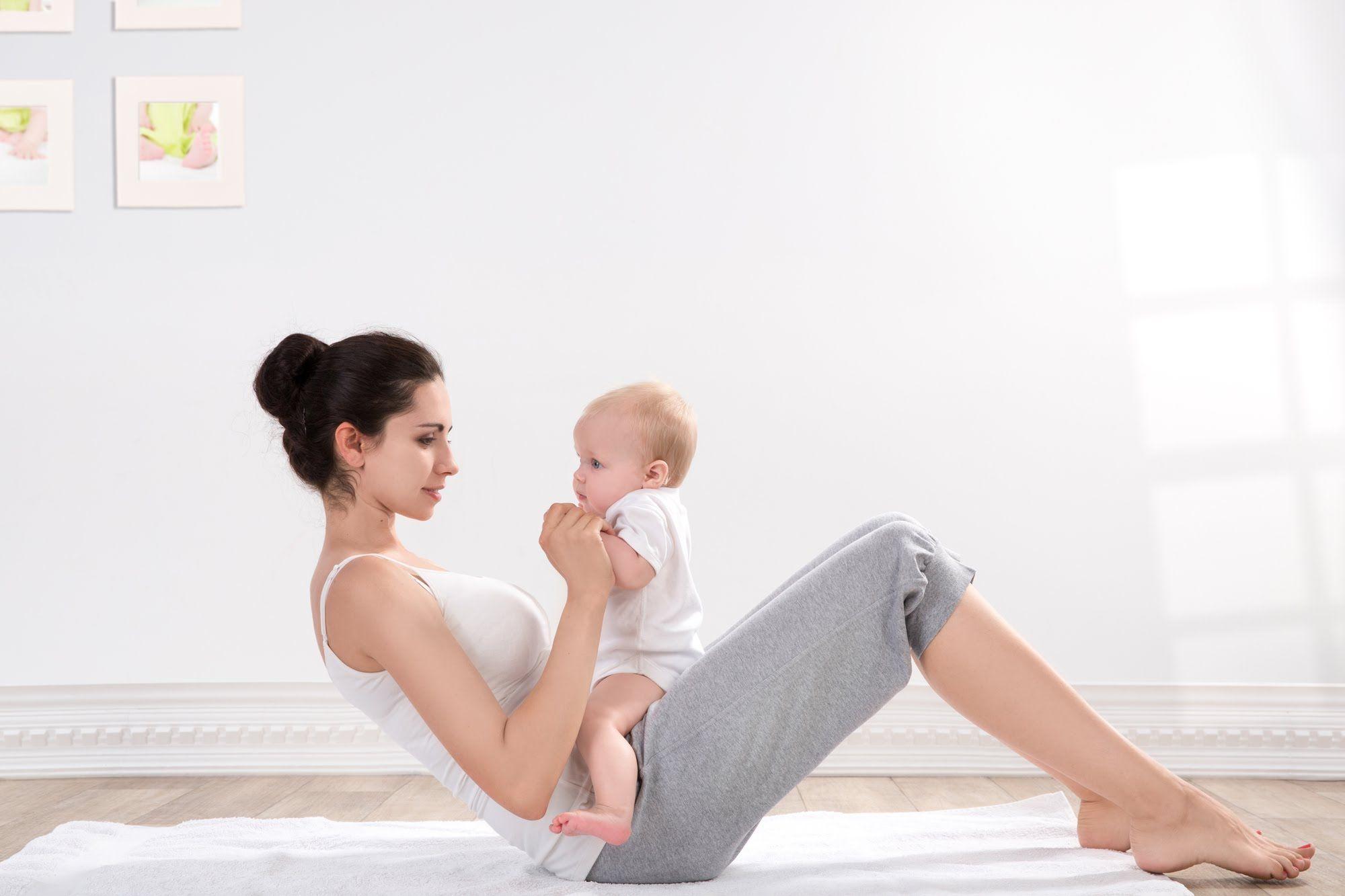 5 лайфхаков, как похудеть после родов