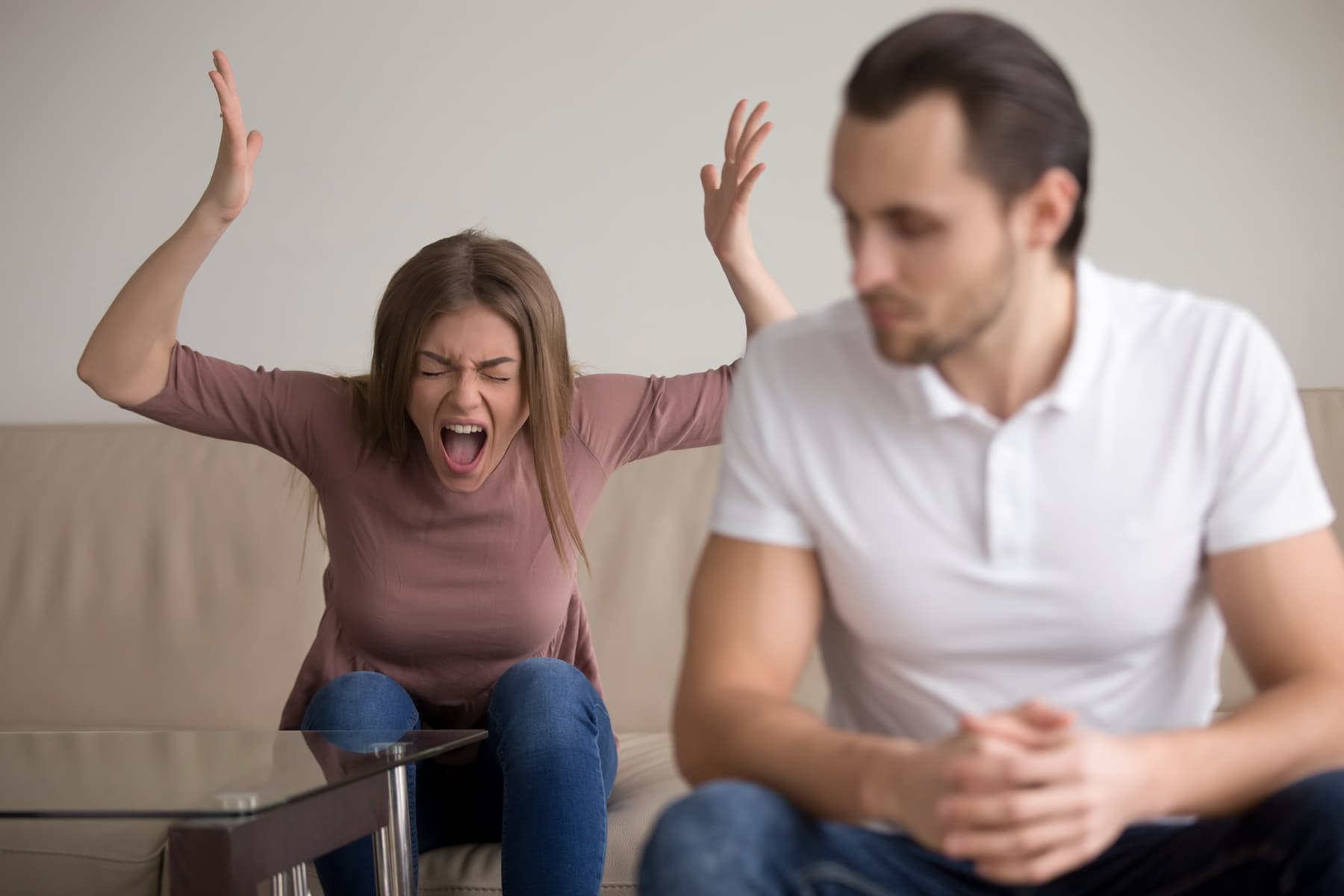 Что делать с оскорблениями мужа